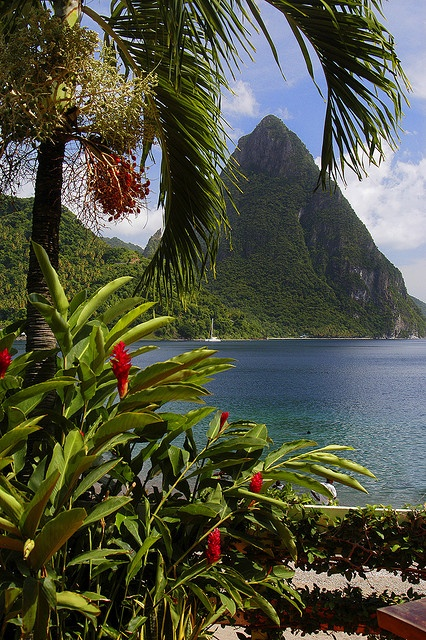st lucia top destination romantic
