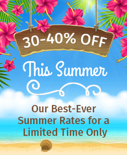 30 percent off spring special