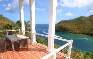 the great house marigot bay st lucia best view of ocean bay