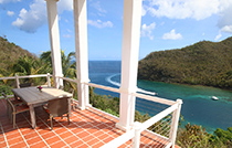the great house marigot bay st lucia best view of ocean bay2