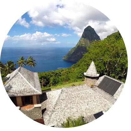The Famous Villa Pitons Retreat