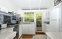 villa st lucia kitchen self contained2