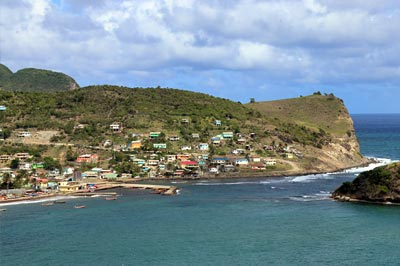 St. Lucia Fishing Village of Dennery