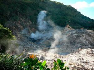 active volcano st lucia